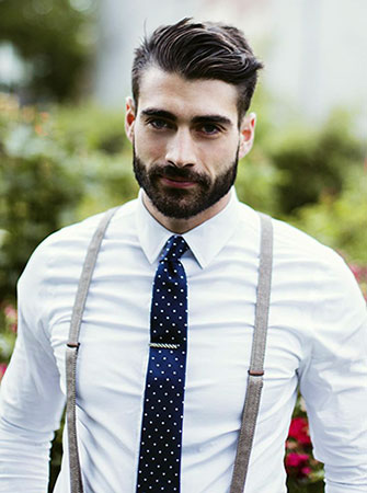 Suspenders With Tie