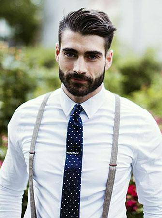 Suspenders With Tie