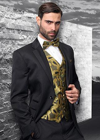 Three Piece Suit With Tie