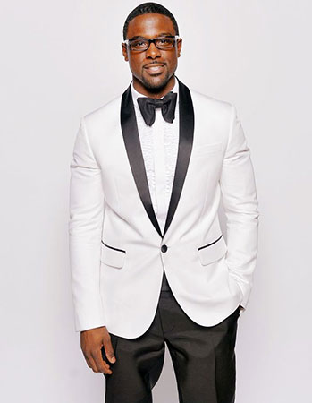 White Jacket With Bow Tie
