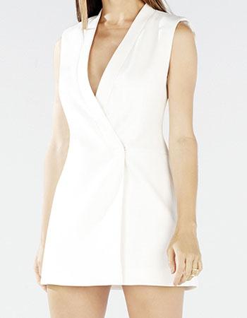 Wrap Vest Dress