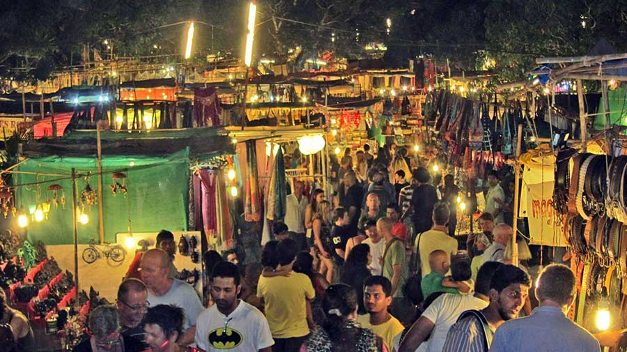 Goa Saturday Night Market at Arpora
